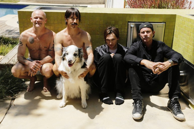 Red Hot Chili Peppers. (Photo by Steve Keros)