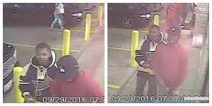 St. Louis police released these surveillance images of the suspects involved in a shooting Thursday night near the St. Louis Science Center.