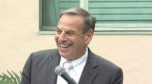 Mayor Bob Filner smiling