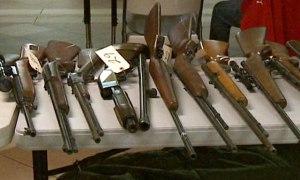Guns Turned Into Sheriff's