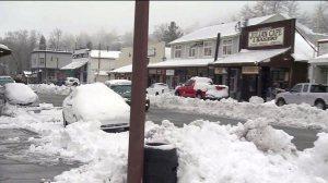 Snow in Julian