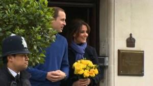 Duchess of Cambridge leaves hospital