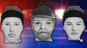 Sheriff's released sketches of two men and a teen accused of kidnapping a teenaged girl.