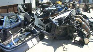 Dismantled 2005 Ford GT