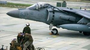 Marine AV-8B Harrier Jet