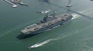 USS Peleliu Deploys