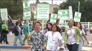 UC medical center strike