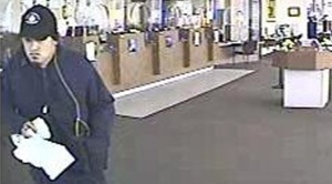 US Bank Robber