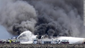 2 die after airliner crash lands, spins, burns at San Francisco airport