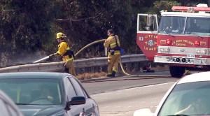I-8 Freeway Fire