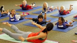 School Yoga Class