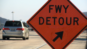 freeway closure