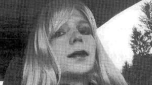 Bradley Manning in drag