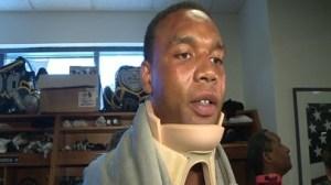 Malcom Floyd Talks About Neck Injury