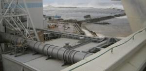 Fukushima Daiichi Nuclear Power Station When the Tsunami hit