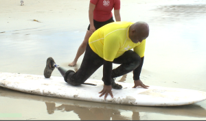 Sports clinic for wounded vets kicks off