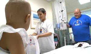 Rady cancer patient gives back to other kids