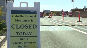 Cabrillo National Monument Closed