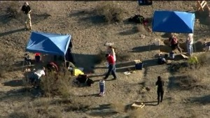 Remains of Four People Found Buried in Desert Near Victorville