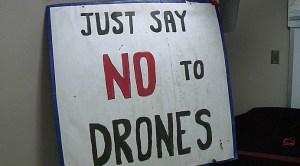 DronesJustSayNo