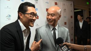 Daniel Dae Kim and C.S. Lee