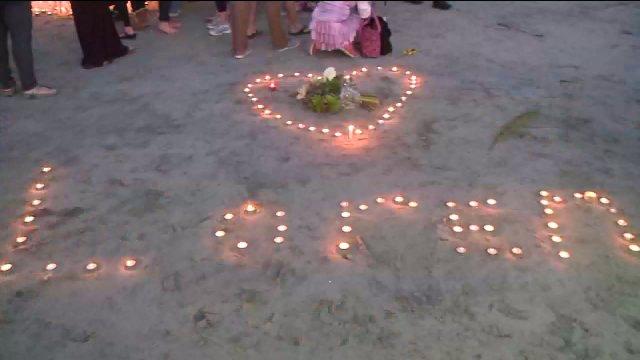 Loren's Candlelight Vigil