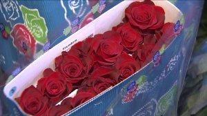 rose parade flowers