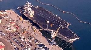 USS Nimitz Docked at North Island