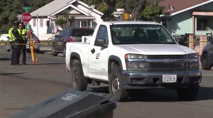 SDGE Truck Hits Mother