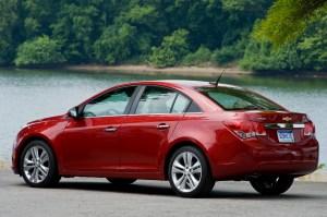 GM recalling over 400,000 Chevy Cruzes