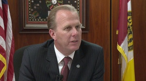 Kevin Faulconer in his office