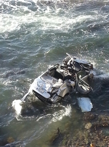 OB Cliff Crash