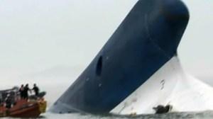 South Korea Sinking Ship — April 16