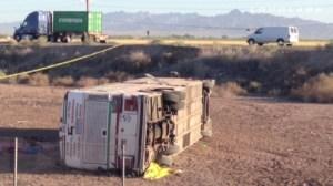 Blythe crash bus