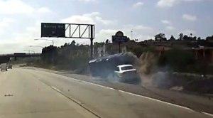 Crash on I-8 near Waring Road