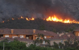 Wildfire Forces Evacuation Of Thousands In Carlsbad, California