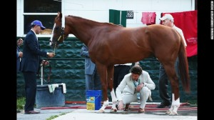 California Chrome's injury 'superficial'; owner continues criticism