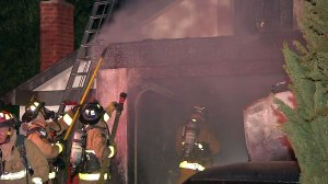 Garage Fire Mira Mesa