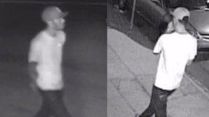 Surveillance photos of the North Park assault suspect. (SDPD)