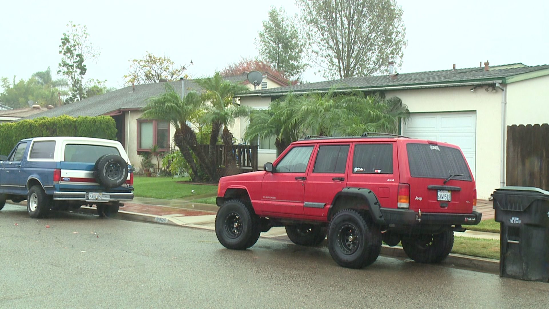A Clairemont home was raided by a child pornography task force on Dec. 3, 2014.