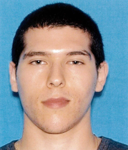 22-year-old suspect Joseph Henry Garcia