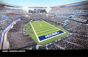 San Diego City/County Chargers Stadium Renderings