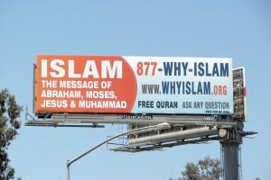 Islam billboard