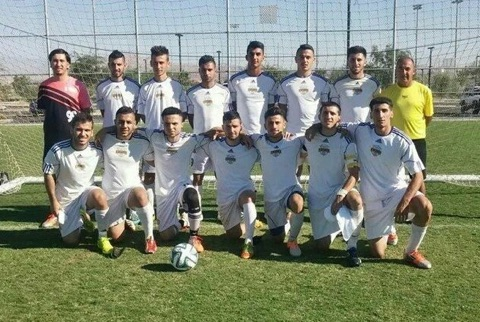 The Chaldean Soccer Club poses for a team photo. (Facebook)