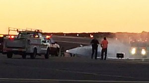 Two men died Wednesday when a helicopter crashed at McClellan-Palomar Airport.