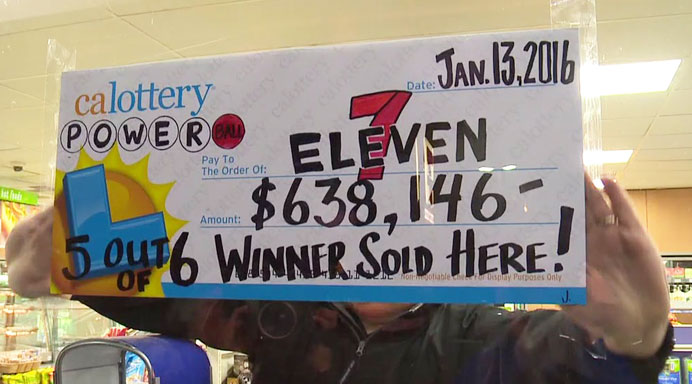 A 7-Eleven in Chula Vista sold a winning Powerball ticket.