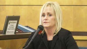 "Stacy McKenzie testified Tuesday that she felt ""doomed"" after former Mayor Bob Filner accosted her at a public event in 2013."