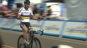 Peter Sagen of Slovakia won the first leg of the AMGEN Tour of California