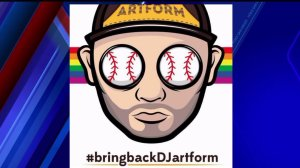 Support for DJ fired by Padres