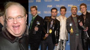 Lou Pearlman, members of NSync (Getty Images)